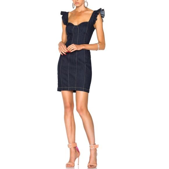 0e19a30f30 Cinq a Sept Mathis Dress in Indigo